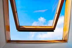 Großes Dachfenster