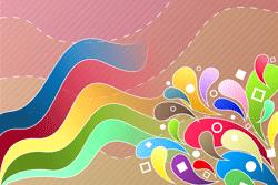 Bunte Farbenvielfalt