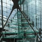 Stahlkonstruktion mit Glas